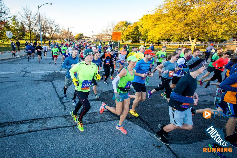 The Milwaukee Running Festival is now the PNC Milwaukee Marathon.