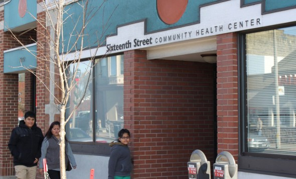 The mental healthcare system is transitioning from county-run centralized institutions to a community-based model with services provided at clinics such at the Sixteenth Street Community Health Center in Clarke Square. Photo by Matthew Wisla.
