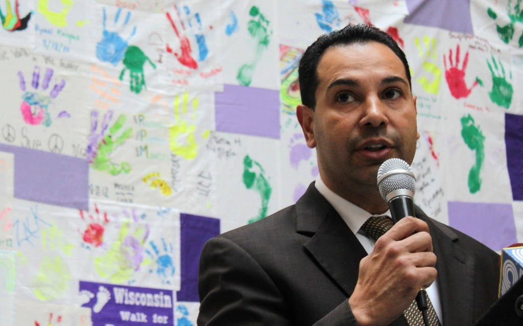 Héctor Colón, director of the Department of Health and Human Services, leads Milwaukee County's efforts to improve a fragmented, complex mental healthcare system. Photo by Matthew Wisla.