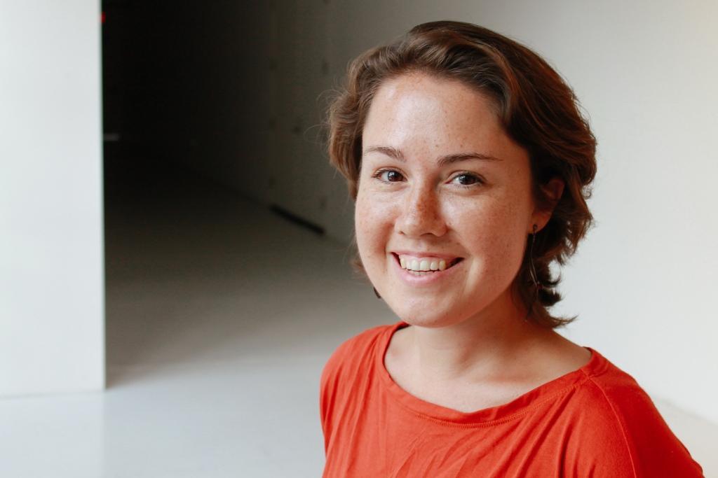 Caroline Shaw, composer, violinist, vocalist.  Photo by Dashon Burton.