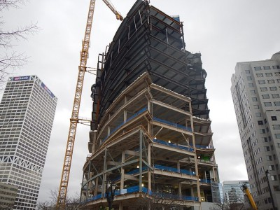 Friday Photos: Quick Pace for NM Tower and Commons