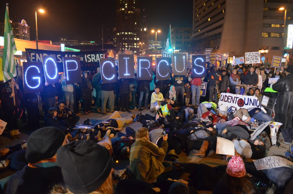 GOP Circus. Photo by Jack Fennimore.