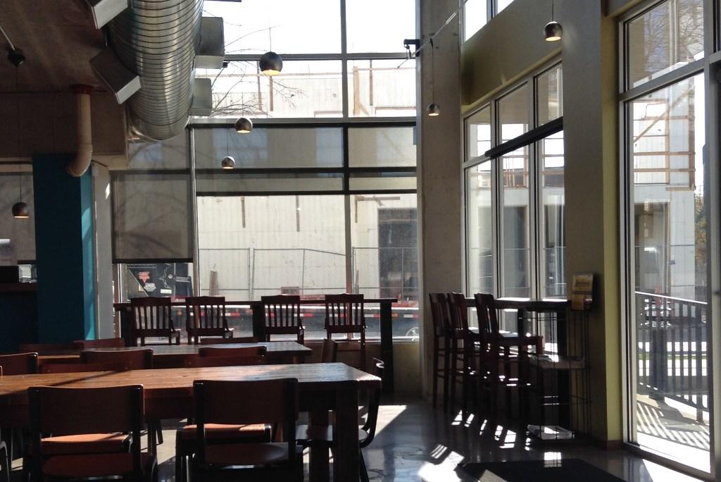Beerline Café. Photo by Cari Taylor-Carlson.