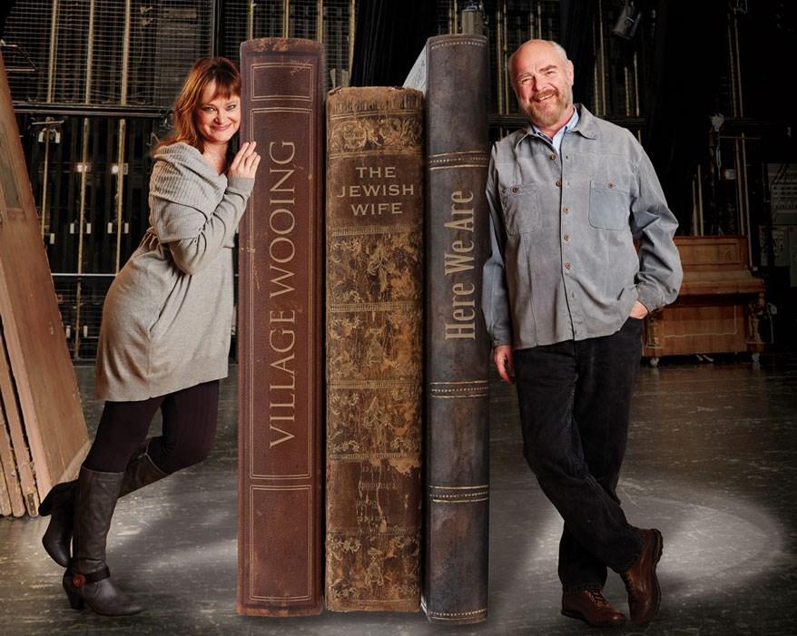 Love Stories. Tami Workentin & James Pickering; Photo by John Nienhuis.