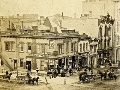 Yesterday's Milwaukee: Wisconsin and Broadway, 1867