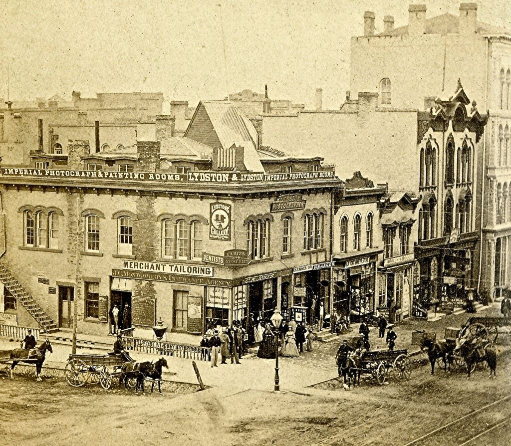 Wisconsin and Broadway, 1867