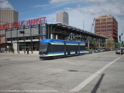 Eyes on Milwaukee: First Streetcar Heading to Milwaukee