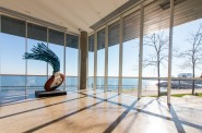Looking out over Lake Michigan. Photo courtesy of the Milwaukee Art Museum.