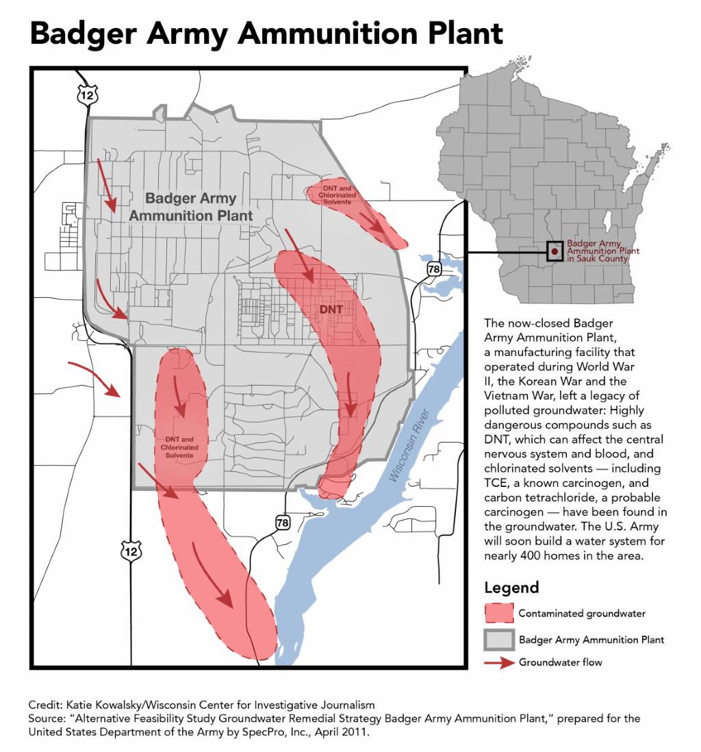Badger Army Ammunition Plant