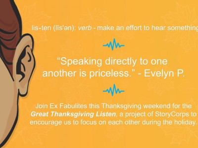 Local storytelling organization encourages the community to listen