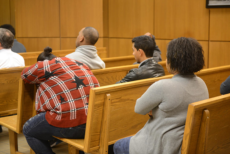 Most defendants go to Milwaukee Municipal Court without an attorney. Photo by Sue Vliet.