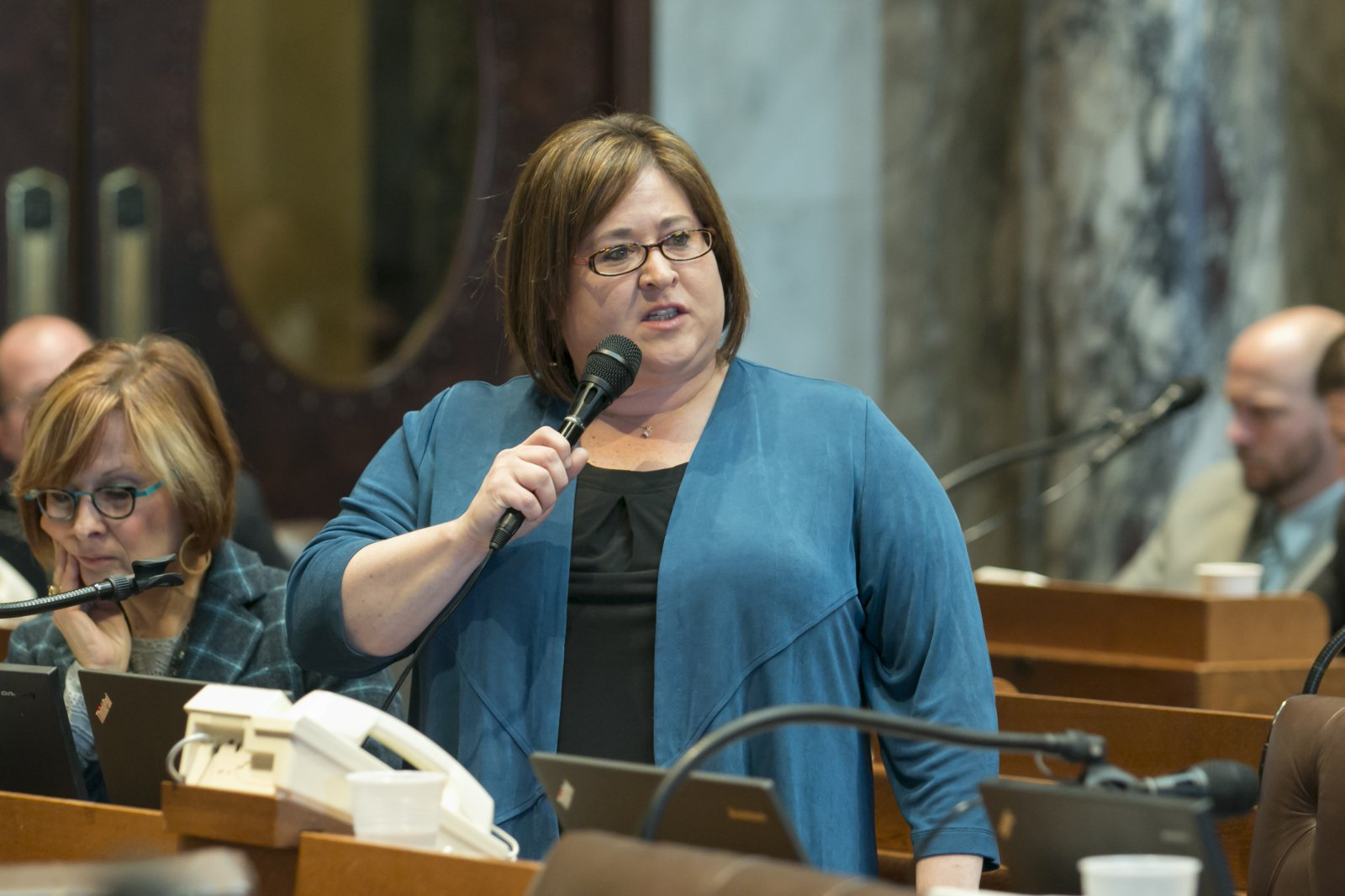 Representative Subeck Testifies on Bill to Limit Shackling of Incarcerated Women during Labor and Childbirth