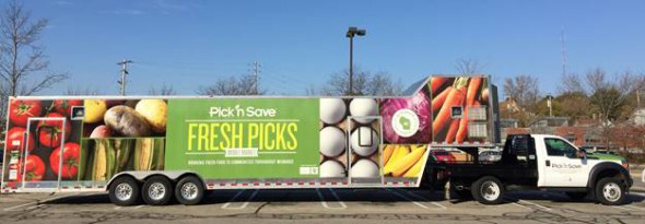 Hunger Task Force and Pick 'n Save Launch Mobile Grocery Store