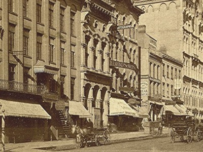 Yesterday's Milwaukee: Wisconsin Ave. and Northwestern Mutual, 1870s