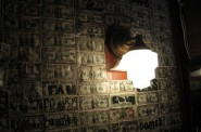 Cash wall. Photo by Michael Horne.