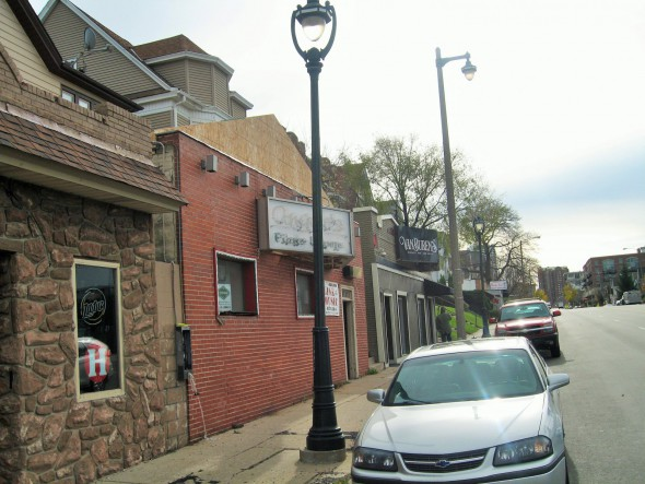 Angelo's and Van Buren's Whiskey Bar, formerly Libby's. Photo by Michael Horne.
