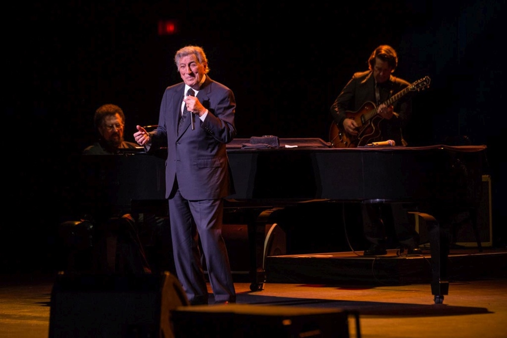 Tony Bennett. Photo by Adam Miszewski.