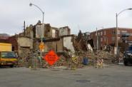 Demolition of the historic J.L. Burnham Building. Photo by Jack Fennimore
