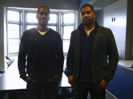 Jalin and James Phelps moved the business to a new space on 1849 N. Martin Luther King Drive. Photo by Stephanie Harte.