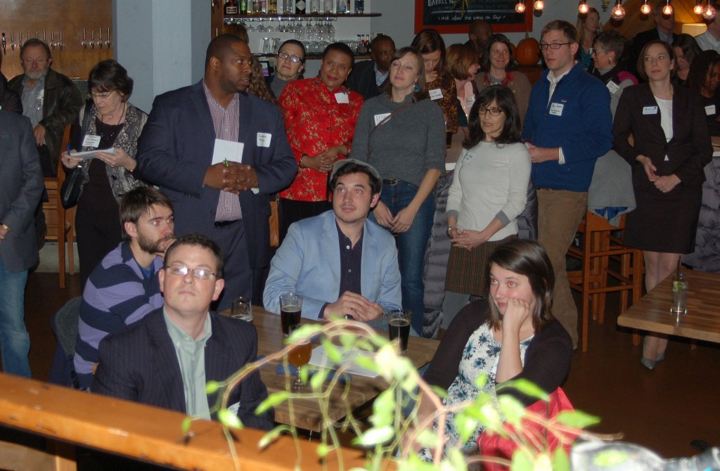 LISC Milwaukee projects, such as the MANDI award competition, are proceeding as planned. Finalists were announced at a recent event. Photo by Andrea Waxman.