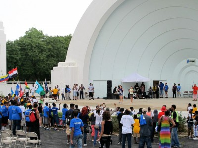 County Funds to Preserve Washington Park Bandshell