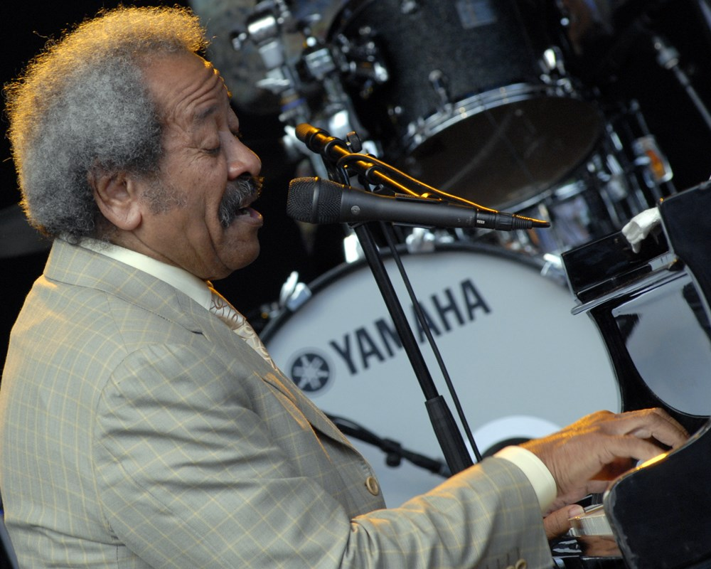 Allen Toussaint. Photo by Henryk Kotowski.
