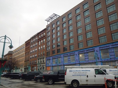 Friday Photos: Third Ward's New Hotel Near Completion