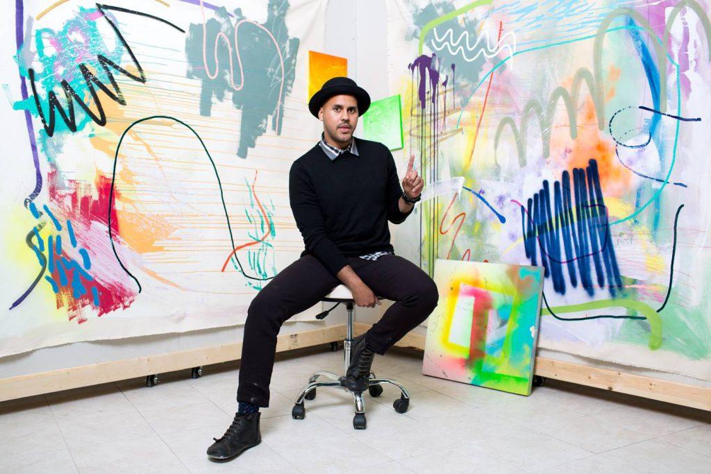 Erick Ledesma. Photo courtesy of Artists Working in Education.