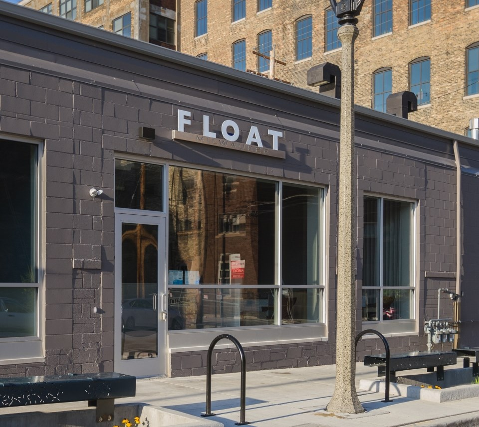 Float Milwaukee. Photo from Float Milwaukee website.