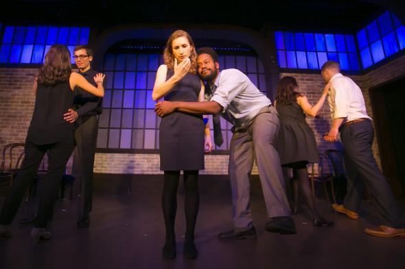 Liz Reuss is center stage. ©Todd Rosenberg 2015