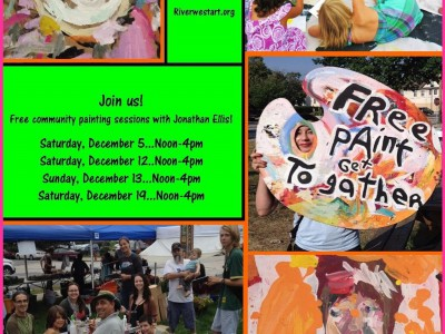 Riverwest Artists Association Hosts Free Paint Get Togather Exhibit & Community Painting Events