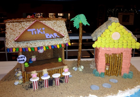 Gingerbread Tiki Bar. Photo by Joey Grihalva.