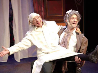 Theater: Not Quite Ebenezer Scrooge