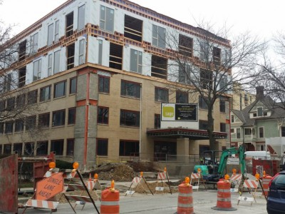 Friday Photos: Sage on Prospect Is Green and Growing