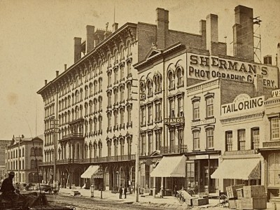 Yesterday's Milwaukee: Broadway in Late 1860s