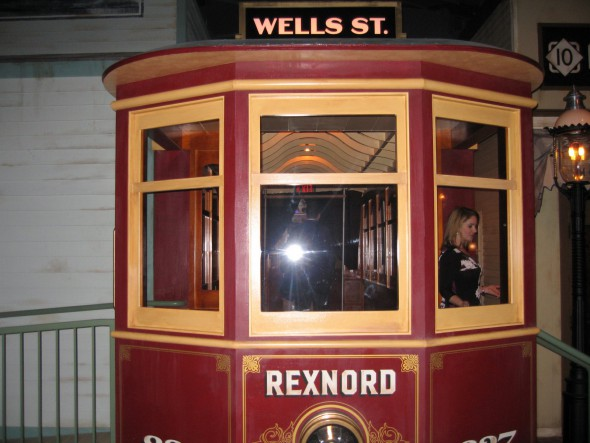 Rexnord Streetcar? Photo by Michael Horne.