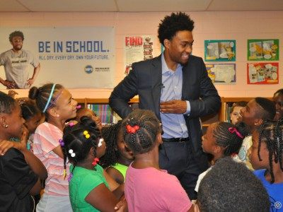 Jabari Parker Supports Safe & Sound's H.O.M.E. Team Initiative Through Major Ticket Donation