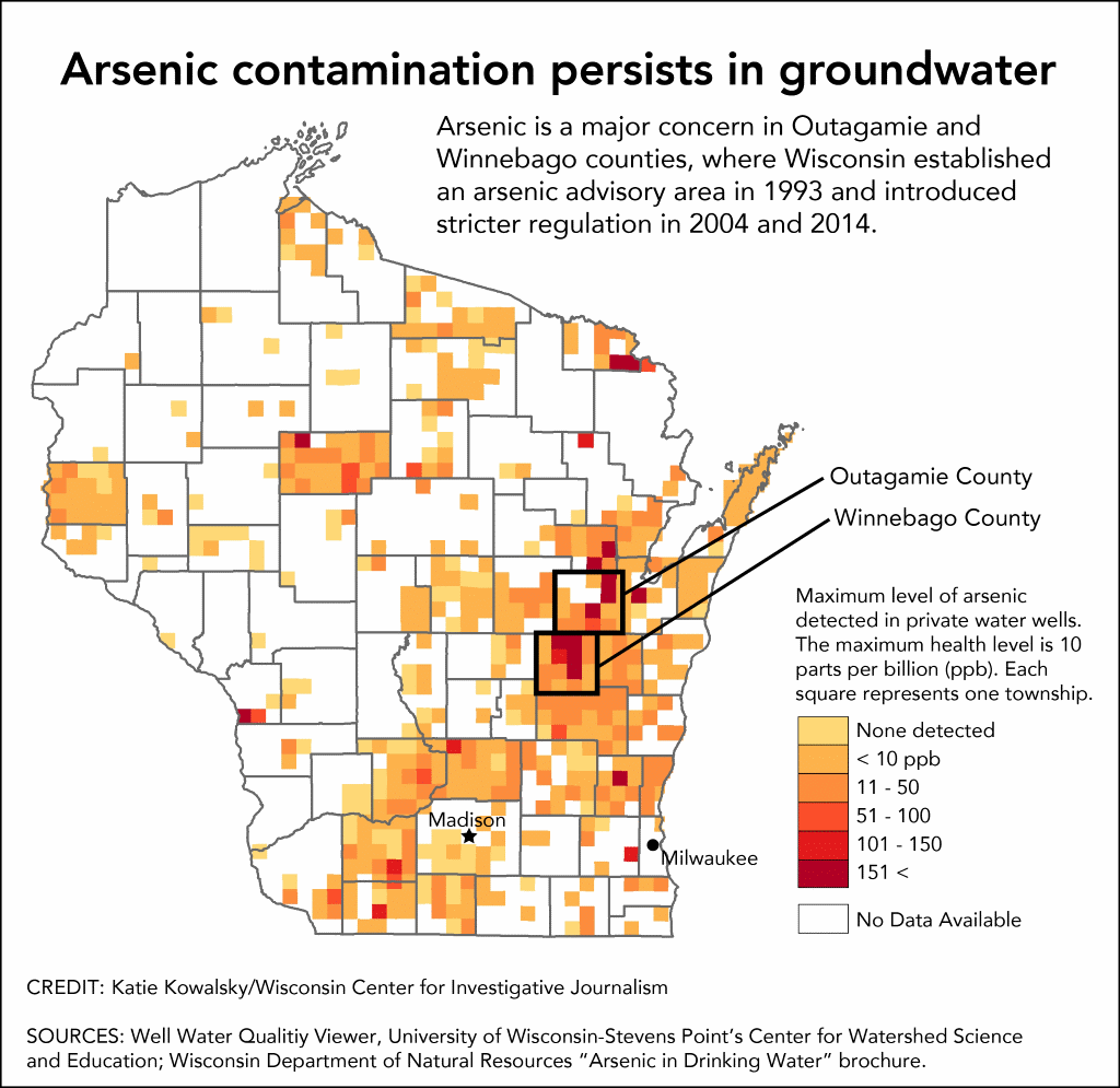 Arsenic contamination persists in groundwater