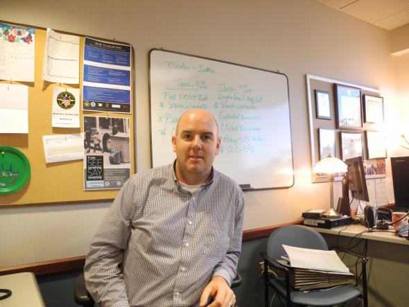 Community Prosecution Unit Team Captain Jacob Corr. Photo by Laura Thompson.