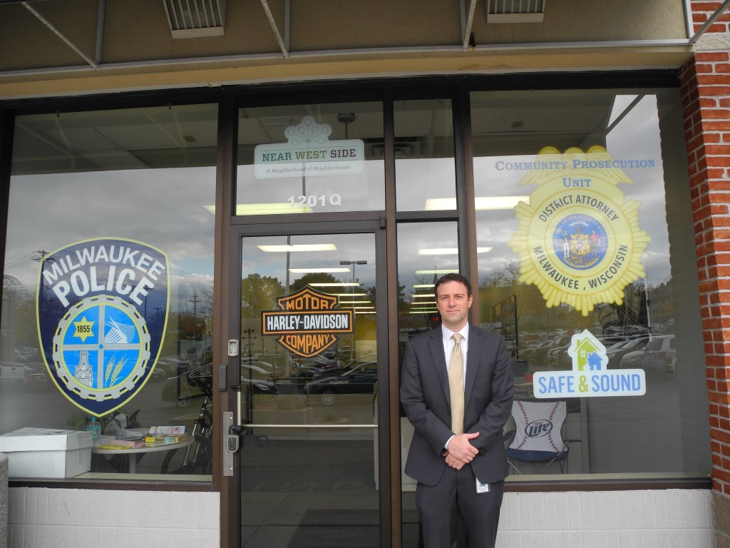 Assistant District Attorney Christopher Ladwig. Photo by Laura Thompson.