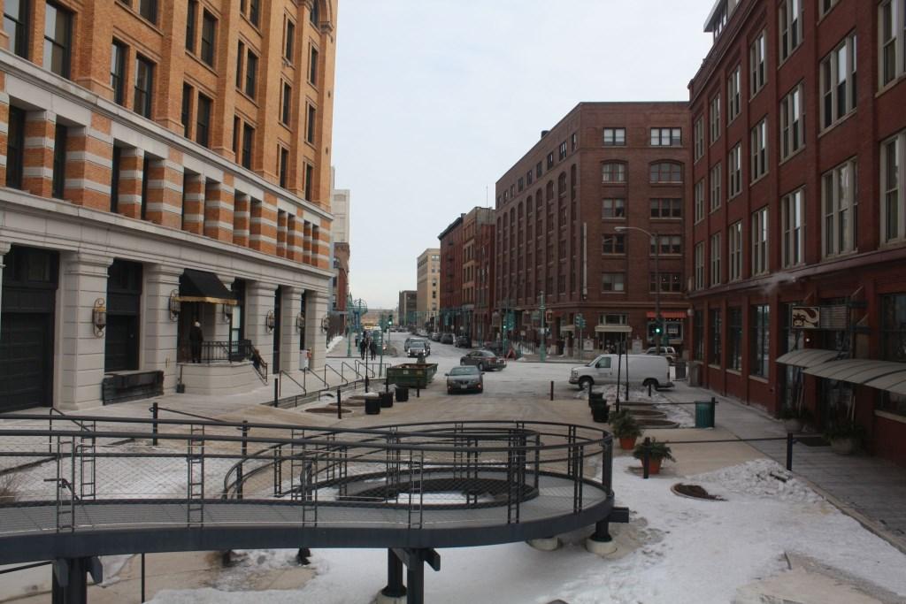 E. Buffalo Street. Photo by Carl Baehr.