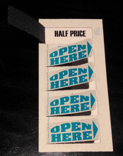 Happy Hour Pull Tabs. Photo by Joey Grihalva.