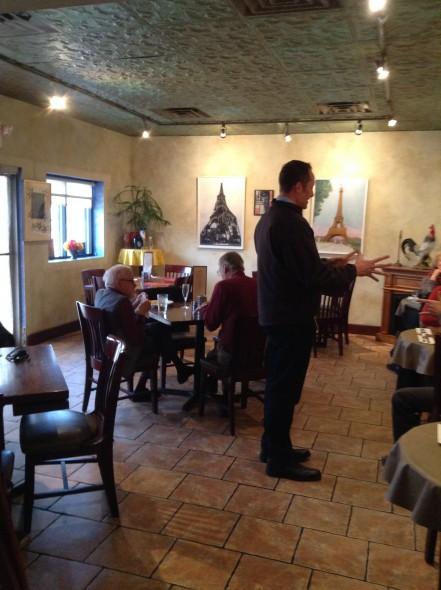 Chez Jacques. Photo by Cari Taylor-Carlson.