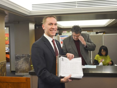 Chris Larson Submits Maximum Amount of Signatures for Milwaukee County Executive Race
