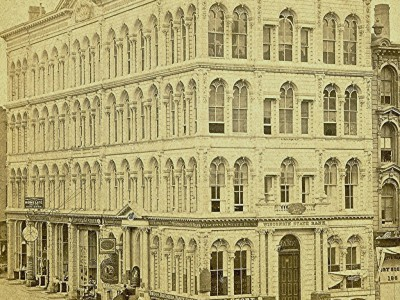 Yesterday's Milwaukee: Iron Block Building, About 1867