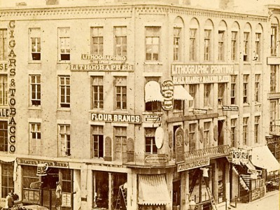 Yesterday's Milwaukee: Van Cott Block Building, Late 1860s