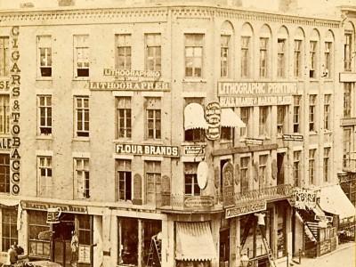 Yesterday's Milwaukee: Van Cott Block Building, Late 1860s