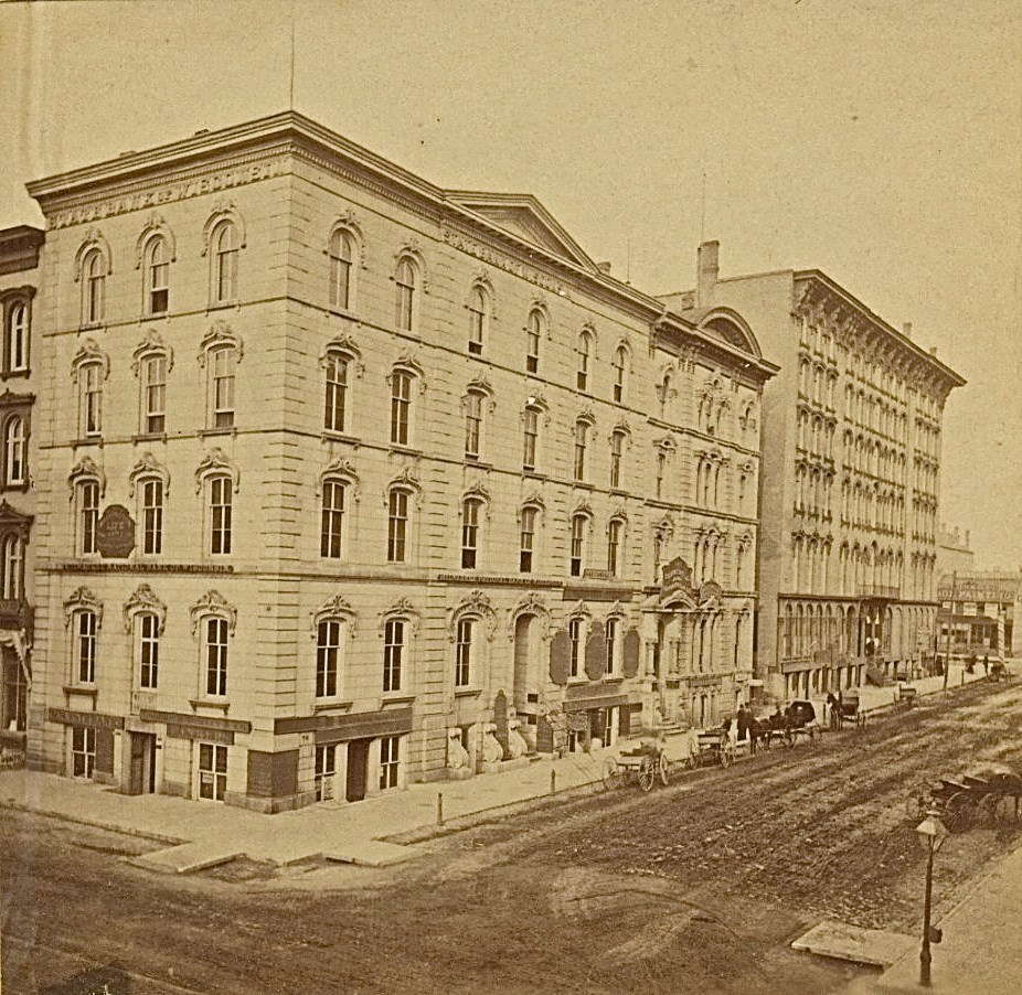 Bankers Row, 1860s. Image courtesy of Jeff Beutner.
