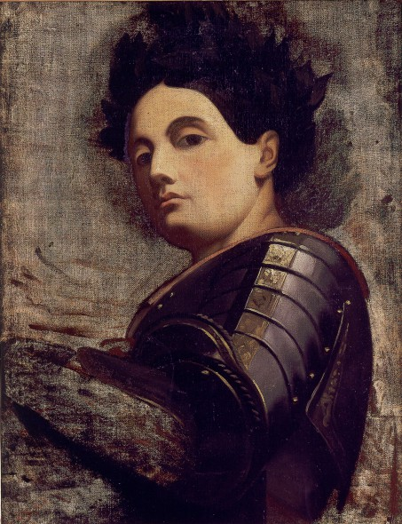 Joan of Arc. Jules-Claude Ziegler, French, 1804 – 1856. Museum purchase Collection of the Haggerty Museum of Art, Marquette University.