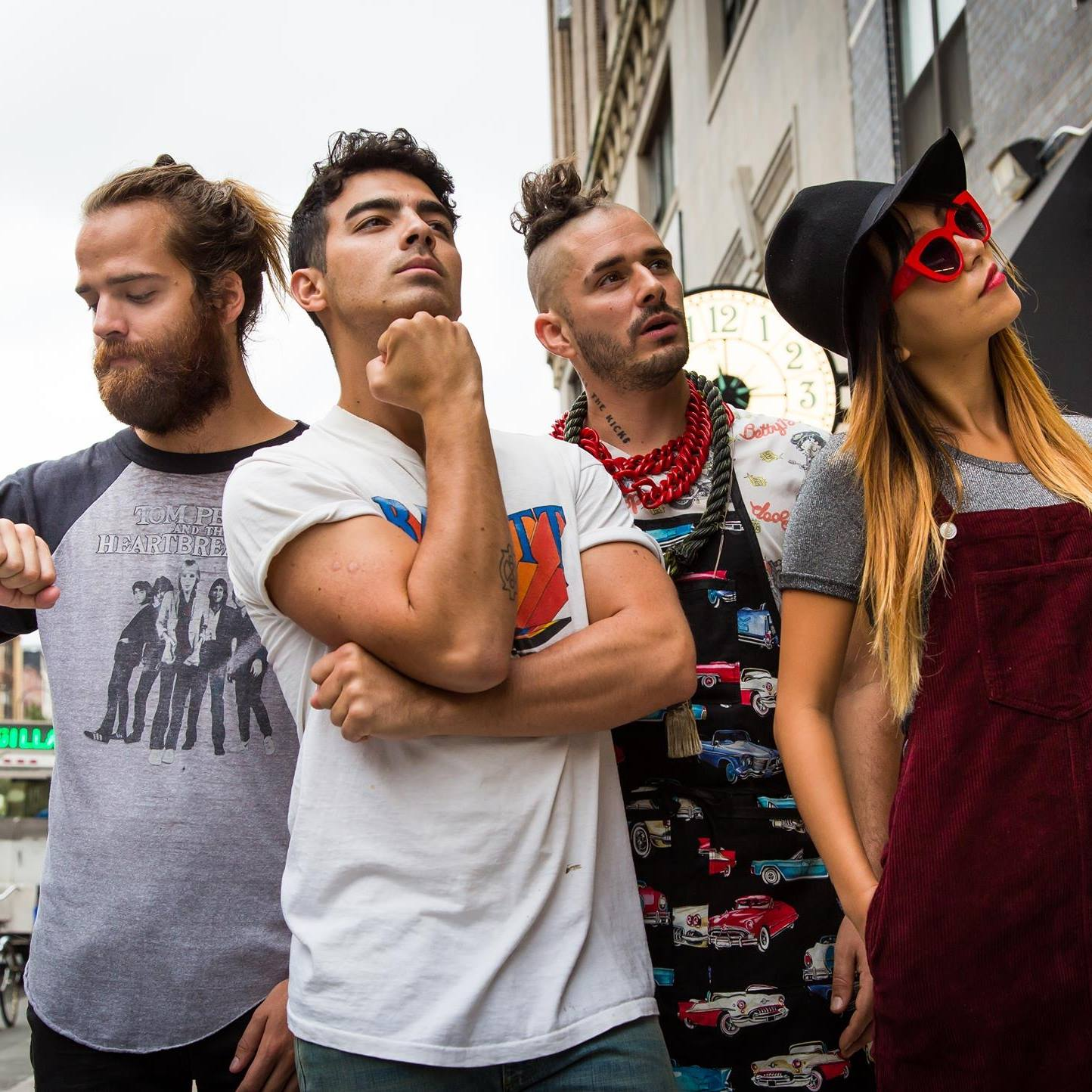 DNCE. Photo from Facebook.